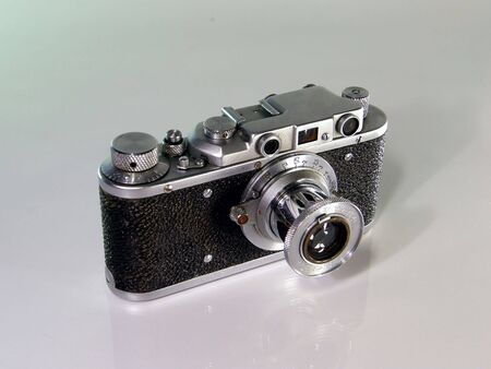 Old photo camera Stock Photo - 4417782