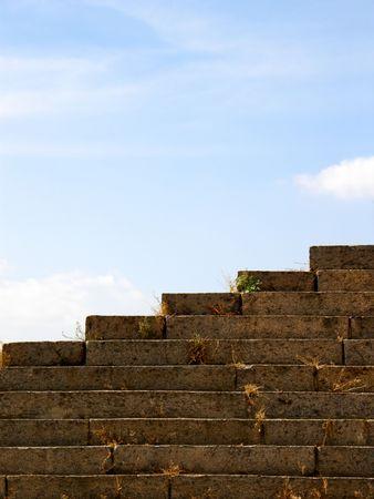 stone steps photo