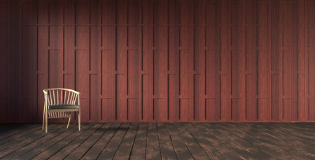 wooden partition: Thai stylecarved wooden partition wall 3d rendering