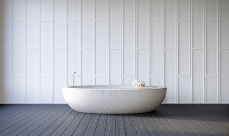 bath room: Bath Room  Modern  3D Render Image