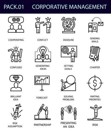 Elements of corporative management.