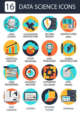 unstructured: Data science icons