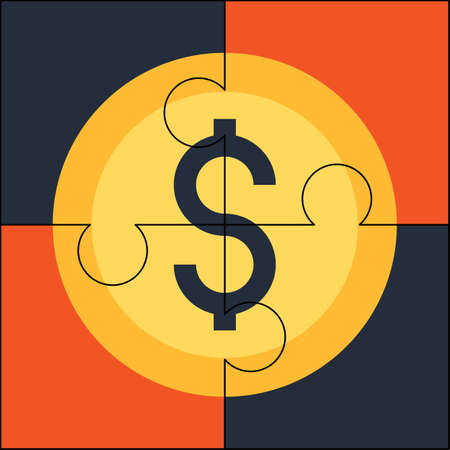 solution: Financial solution Illustration