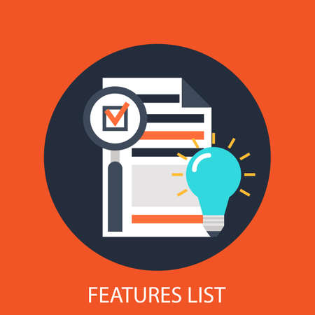 features: Features list Illustration