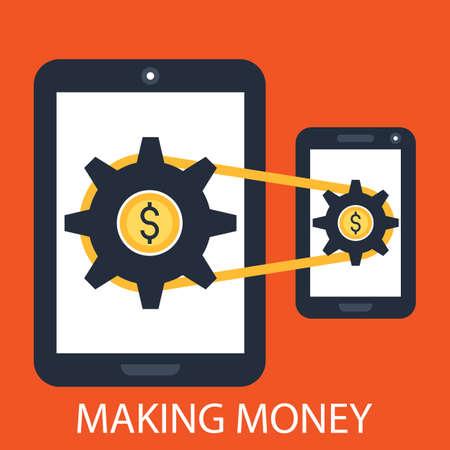 making money: Making money