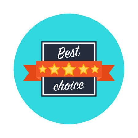 the best: Best choice web icon