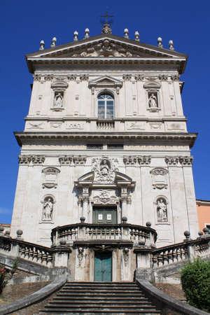 Church of Santi Domenico e Sisto (Rome, Italy) Stock Photo - 5134875
