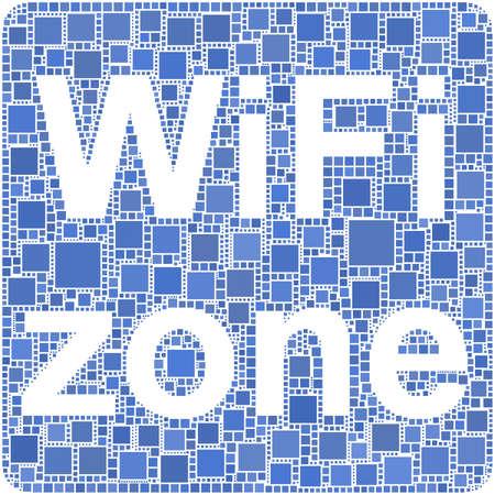 Zona WiFi  Foto de archivo - 5951547