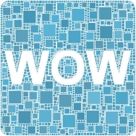 WOW! Stock Vector - 6001459