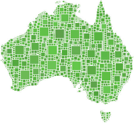 Map of Australia Stock Vector - 6761962