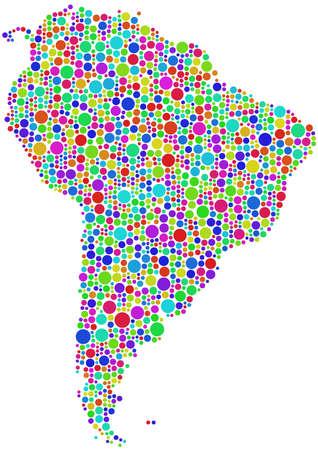 ラテン アメリカの地図 写真素材 - 8426121
