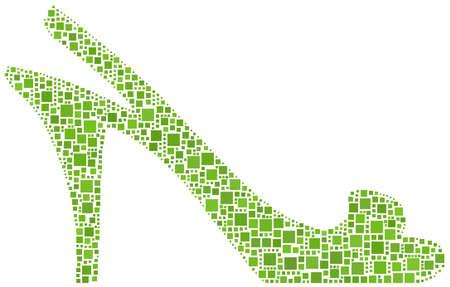 high heel: Women Shoe