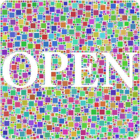 Open! Stock Photo - 10566800