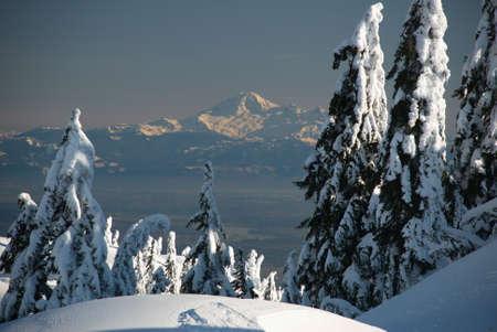 Mount Baker from Seymour