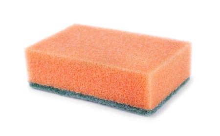 Sponge isolated  on a white  photo