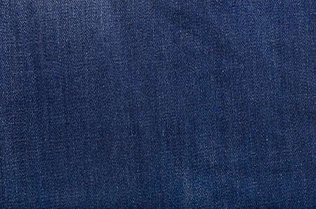 Texture of new blue jeans  photo