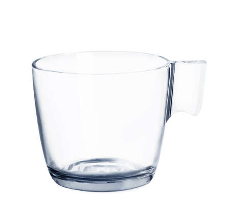 Glass on a white background photo