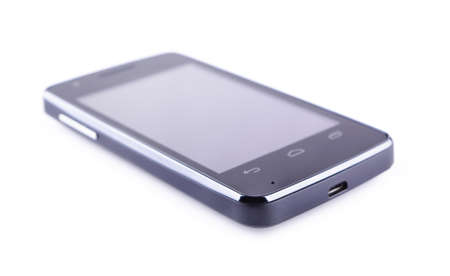 Smartphone on a white background