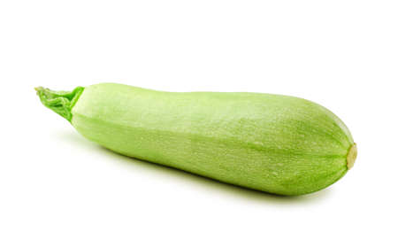 Fresh zucchini isolated on a white background
