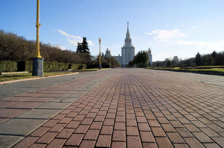 stalin empire style: Moscow state University