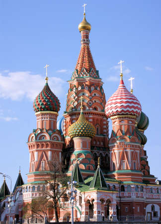 st basil s cathedral: St  Basil s Cathedral in Moscow