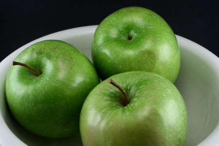 granny smith: Still life of Granny Smith Apples Stock Photo