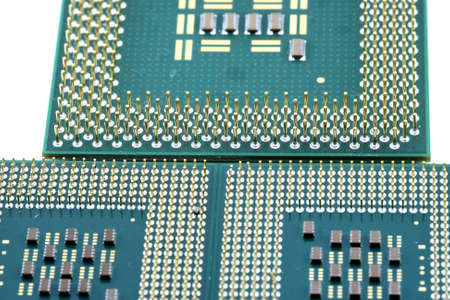 3 processors lined up like a city street