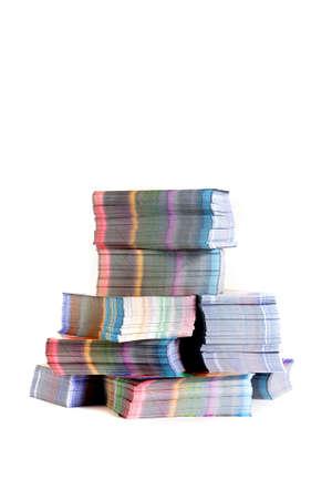 printed materials Stock Photo