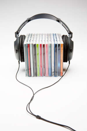 headphones on cds