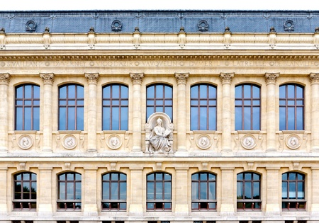 monumental: French architecture - old monumental building Stock Photo