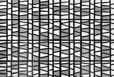 white-gray ceramic mosaic - texture