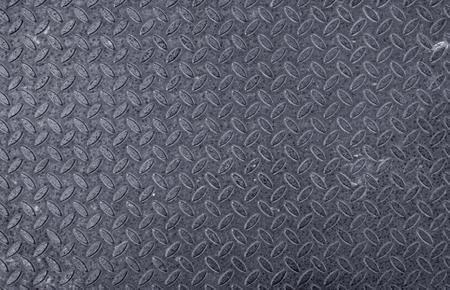 old used steel diamondplate, blue tones, texture or background