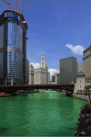 Chicago river Stock Photo - 3215125