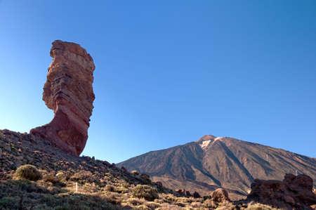 garcia: Los Roques de Garcia and volcano Teide