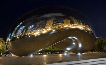 Chicago bean Stock Photo - 6890557
