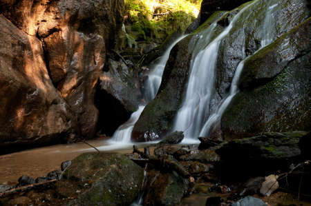 galizia: Fiume Eifonso cascata, a Vigo, Pontevedra, Galizia, Spagna