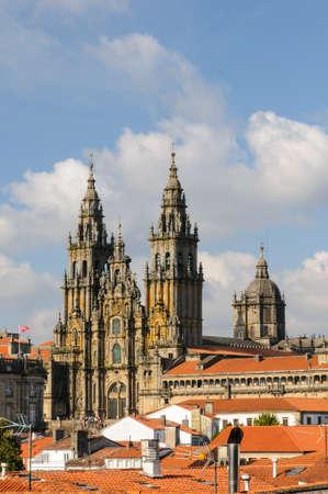 Cathedral of Santiago de Compostela, Galicia, Spain photo