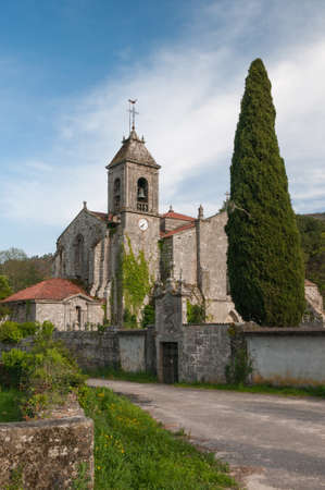 orense: Church of the Cisterian Monastery of Saint Mary of Melon, Ourense, Spain