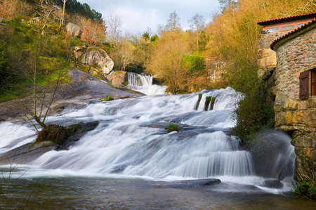 watermills: the waterfall of the Barosa River and some watermills