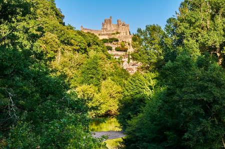 aquitaine: Beynac-et-Cazenac is an ancient village by the Dordogne river in Dordogne-Perigord, Aquitaine, France