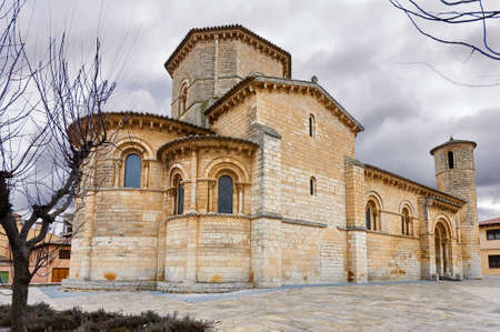 San Martin Church, in Fromista, in the Road to Santiago. Spain Banque d'images - 98912938