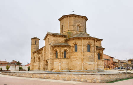 San Martin Church, in Fromista, in the Road to Santiago. Spain Banque d'images - 98833748