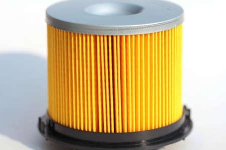 Oil filter car Stock Photo