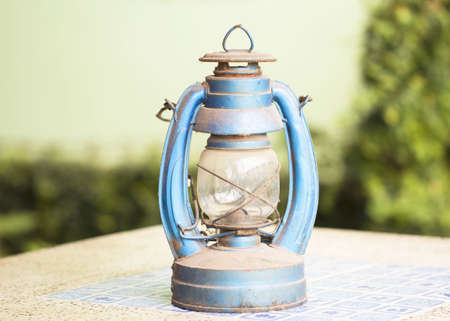 Old lamp isolated