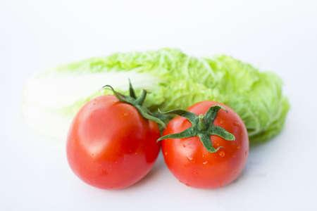 tomatoes Isolated on white background (tomato)