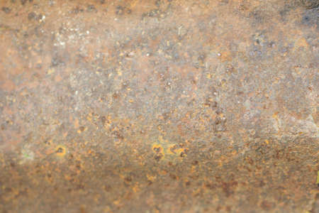Old rusty metal wall texture. Architectural background. Stock Photo