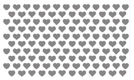 The heart shaped gray background image is suitable for use in all occasions.