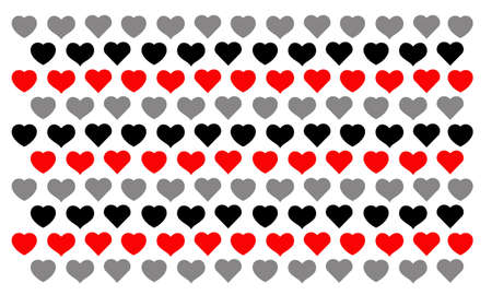 Heart shaped wallpapers, suitable for all occasions Ilustração