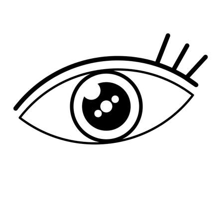 eye icon,Vactor,Eps10 Stock Photo