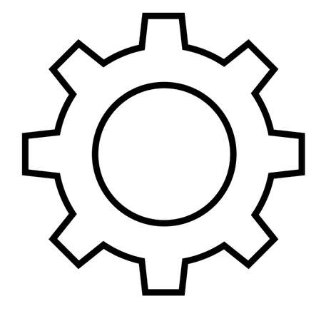 cog icon for your Vector illustration